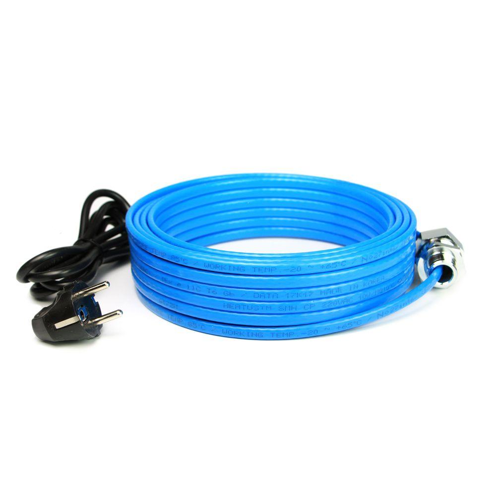 Комплект кабеля внутрь трубы водопровода Young Chang Silicone SMH 190 Вт 19 м