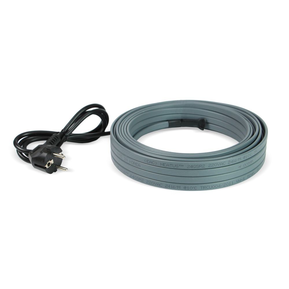 Комплект греющего кабеля для канализации Heatus AGW-24 312 Вт 13 м