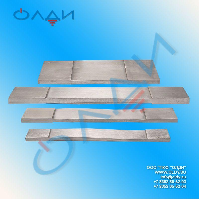Компенсаторы шинные алюминиевые КША на токи до 2000А