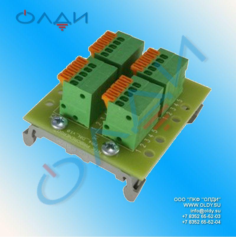 Разветвители интерфейса rs 422/485 ПР-4 (РП-4, РИ-4, КРП-4, EX4TB)