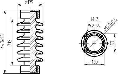 изолятор ИОС 35-500-01 УХЛ1