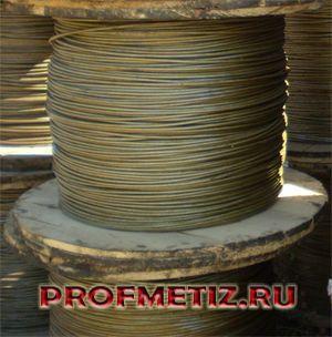 Грозотрос ТК50 ГОСТ 3063-80 ф 9,1 мм. оцинкованный