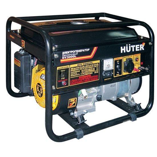 Бензиновый электрогенератор HUTER DY15000LX-3