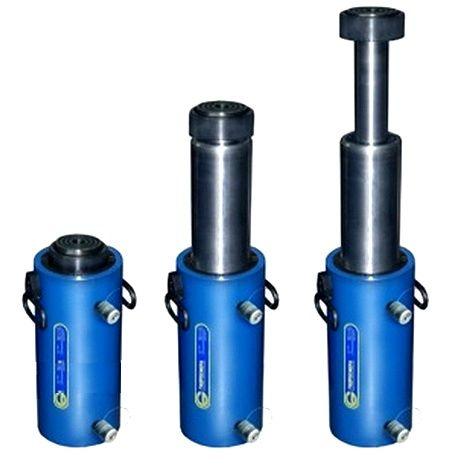 Домкраты гидравлические телескопические двустороннего действия ДГТл50Г500, ДГТл80Г500