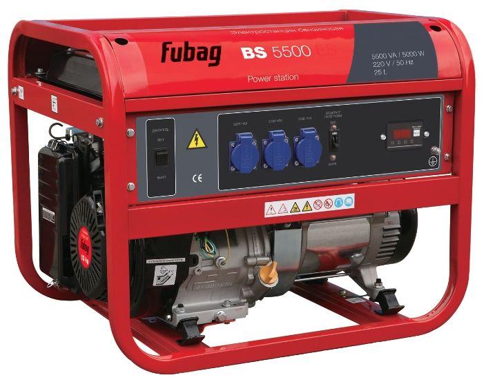 Бензиновый генератор Fubag BS 5500 (5 кВт)