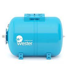 Гидроаккумуляторы горизонтальные Wester WAO