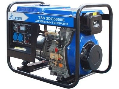 Дизельгенератор TSS SDG 5000E3 (5 кВт, 220/380 В)