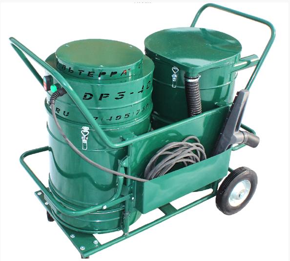 Промышленный пылесос для пыли без мешка ПП-521