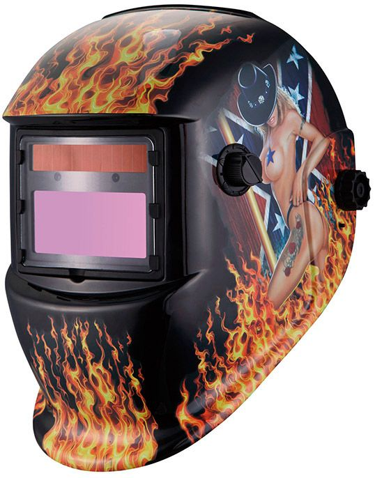 Сварочная маска хамелеон WEGA 450S WE-19