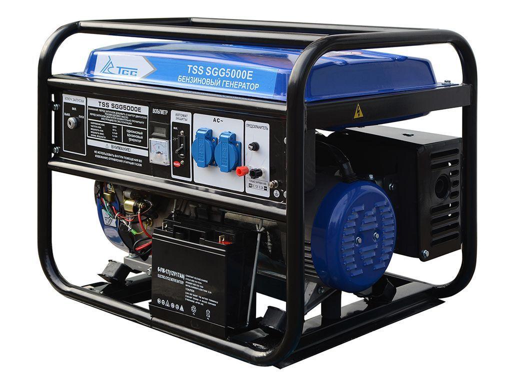 Бензогенератор TSS SGG 5000 E (5 кВт)