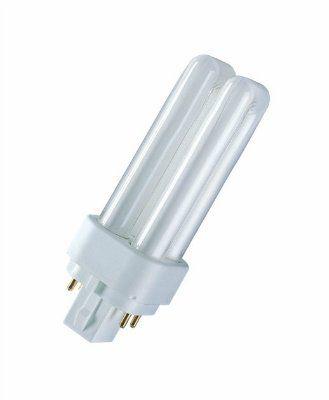 Лампа DULUX D/E 13W/21-840 G24q-1 (холодный белый 4000К) OSRAM