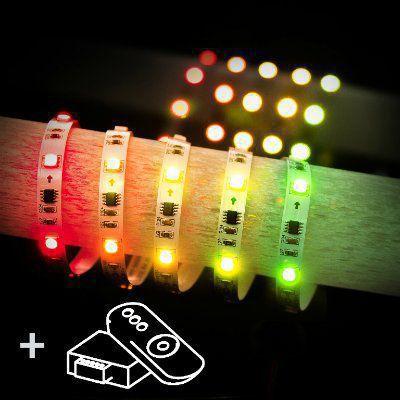 Набор светодиодной подсветки 5m 7,2W RW IP20 Бегущая волна