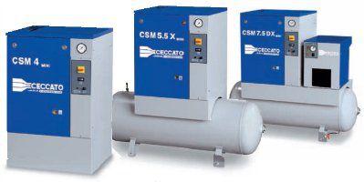 MINI- небольшой маслозаполненный винтовой компрессор 2,2 - 5,5 кВт