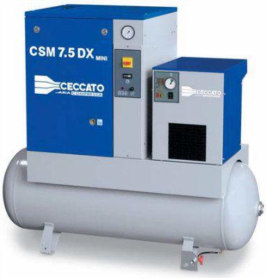 Винтовые компрессоры c ременным приводом серии CSC-CSD