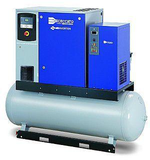 Компрессоры с впрыском масла и прямым приводом серии DRA IVR 10-20 л.с.