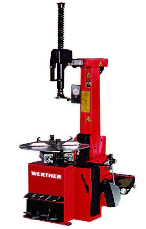 """Werther-OMA Titanium300/24IT Шиномонтажный стенд автоматический 11-22"""", взрывная подкачка"""