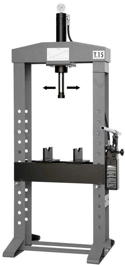 Werther-OMA PR15/PM(OMA653B)_grey Пресс 15 т. с ручным приводом