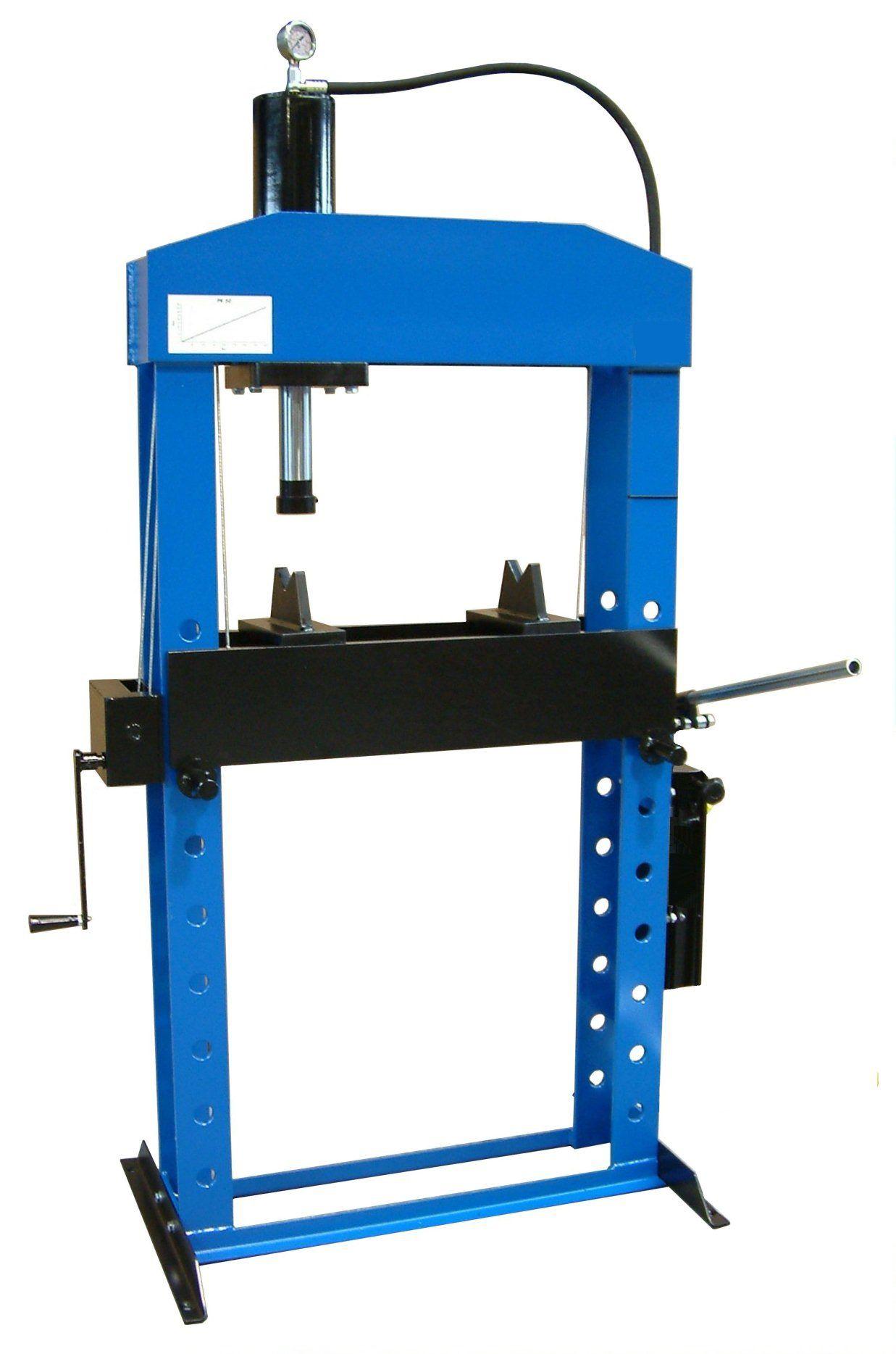 Werther-OMA PR50/PM(OMA658B) Пресс 50 т. с ручным приводом