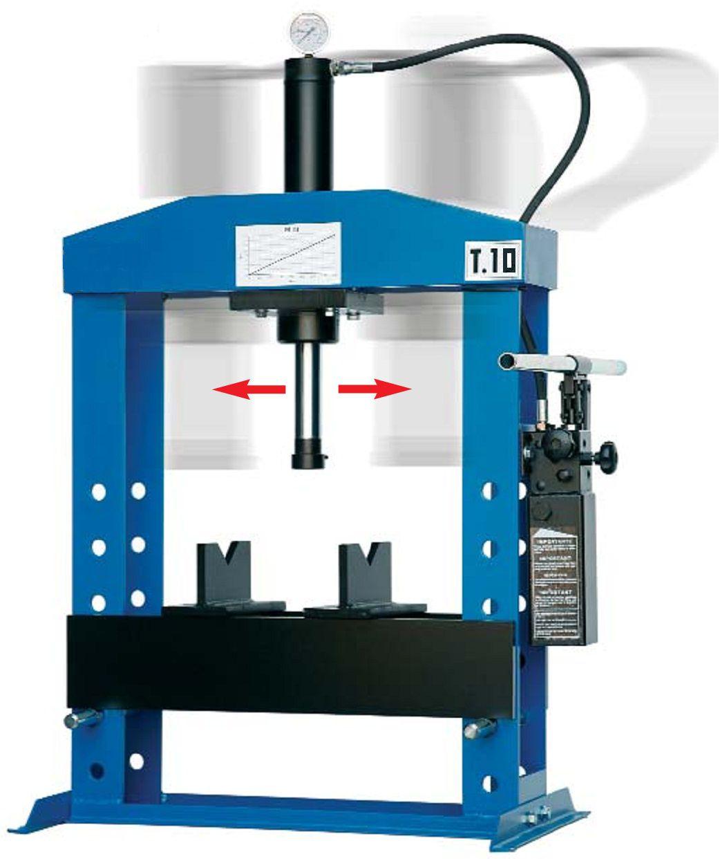 Werther-OMA PR10B/PM(OMA650B) Пресс 10 т. настольный с ручным приводом