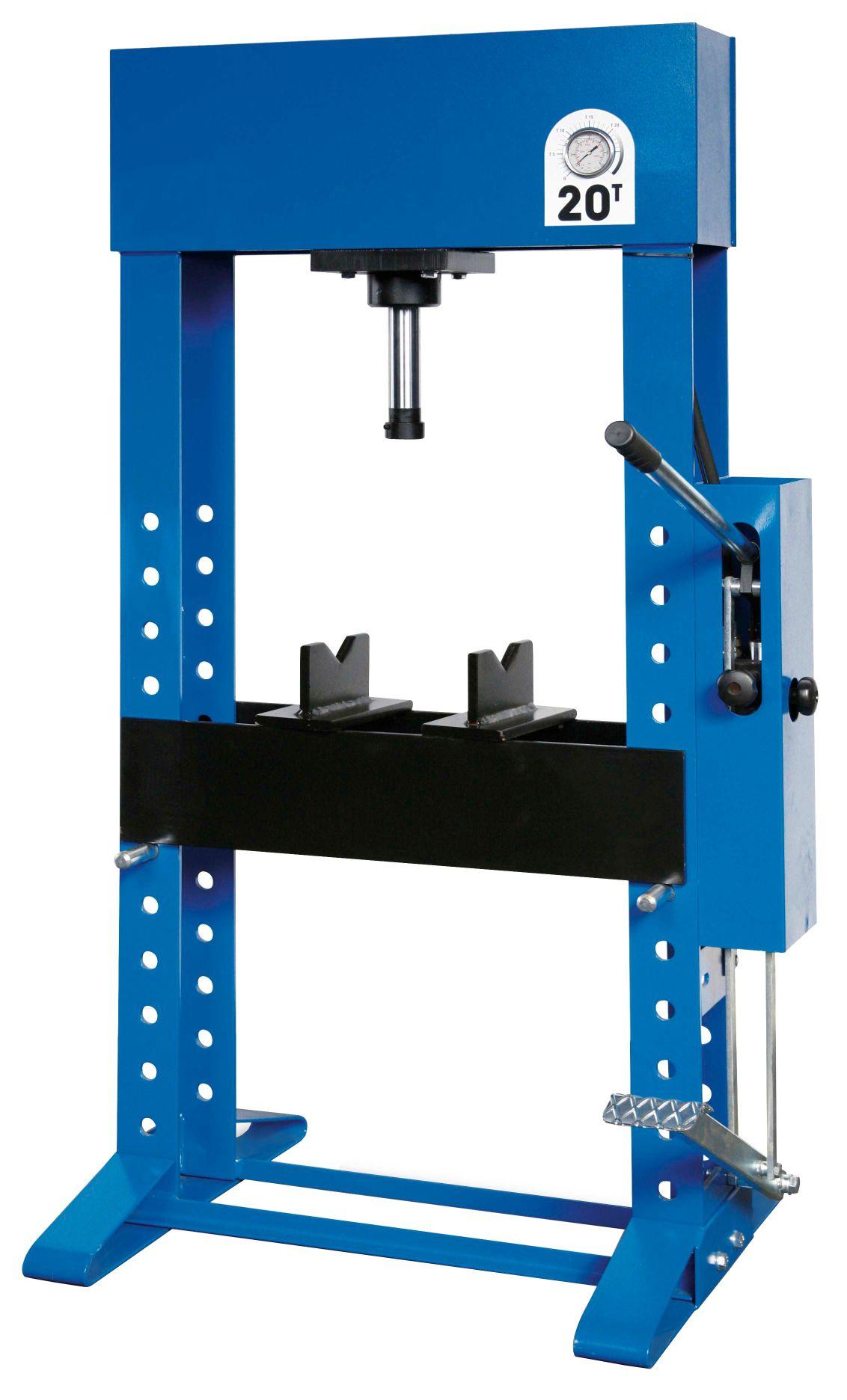Werther-OMA PR20/PMS(OMA654S) Пресс 20 т. с ножным приводом