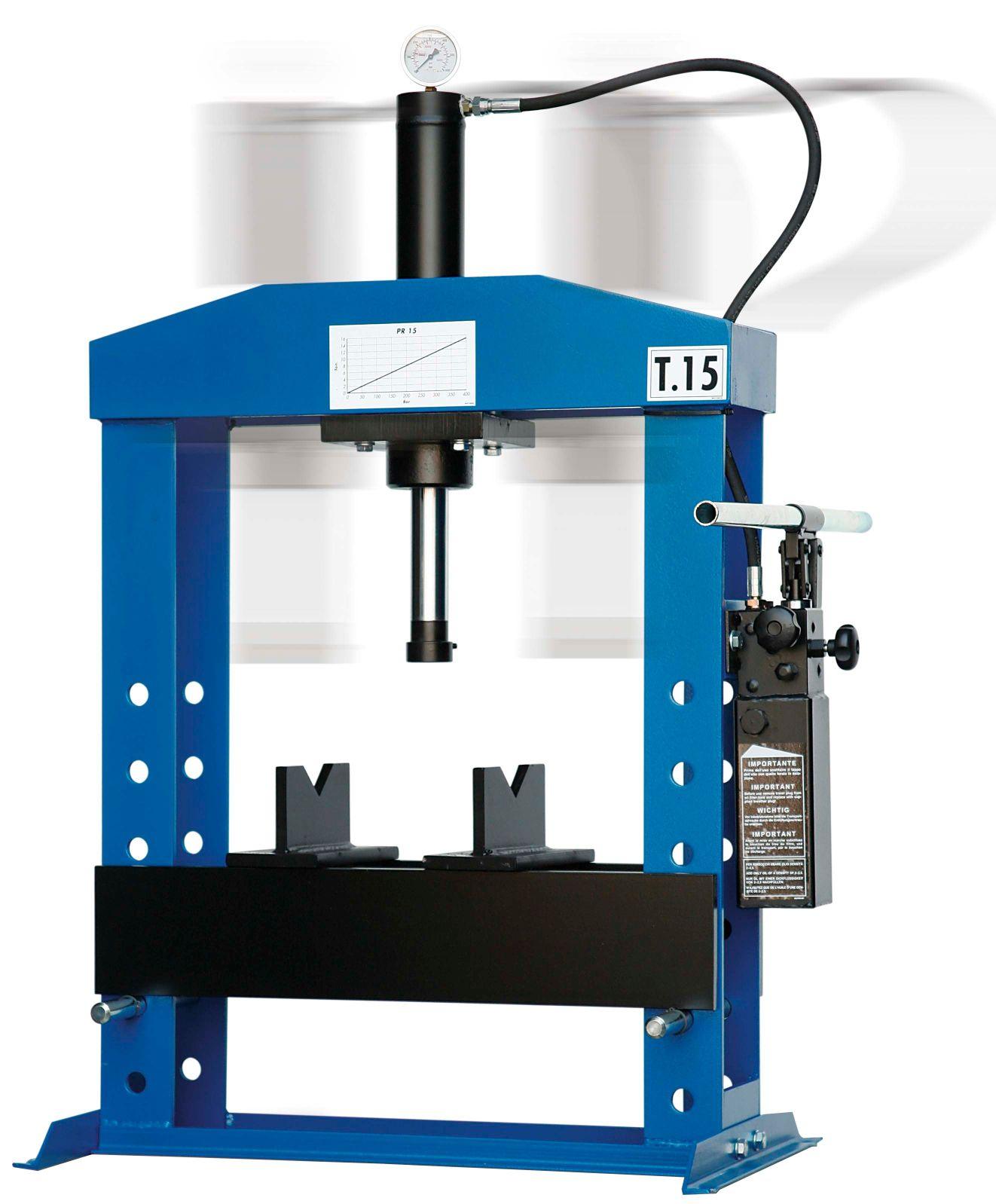 Werther-OMA PR15B/PM(OMA652B) Пресс 15 т. настольный с ручным приводом