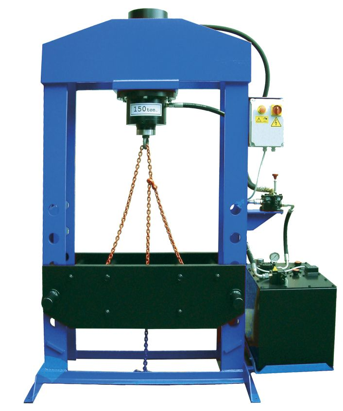 Werther-OMA PRM150(OMA667) Пресс 150 т. с электроприводом