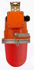 Взрывозащищенный сигнальный светильник НСП 47-200 красный, для маркировки объектов и ограждений, 1ExdsIICT5, IP65