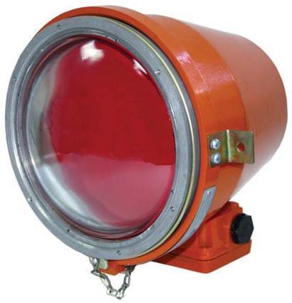 Светофор взрывозащищенный НСП 43М-11-75 красный, зеленый, оранжевый