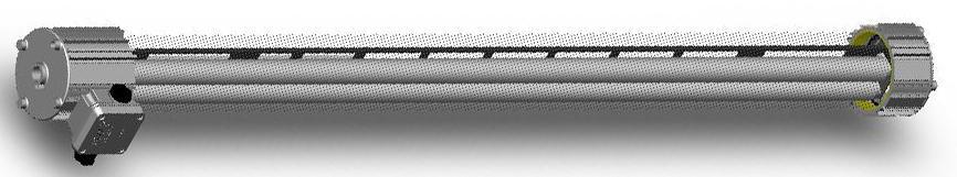 Взрывозащищенный люминесцентный светильник ЛСП66Ех-2х58 (IP65, 1ExdsIIBT6 X, ЭМПРА)