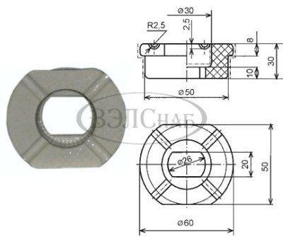 Изолятор ИПТВ-1/1600-2000.01