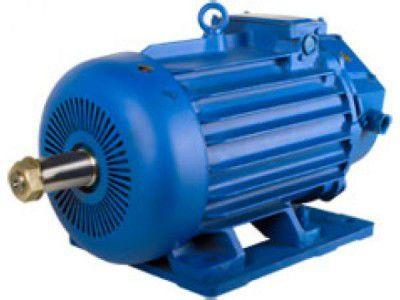 Электродвигатель крановый МТН 611-10 (45*570)  1003