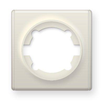 Рамка одинарная, цвет бежевый E52101301