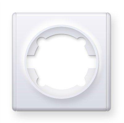 Рамка одинарная, цвет белый E52101300