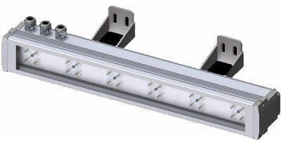 Линейный архитектурный светодиодный светильник XLD-Line50-RGBW-220-ZZZ-01