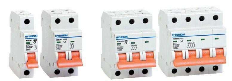 Выключатель автоматический модульный HIBD63-N 1PMCS0000C 00001 , 1Р, «C», 1A, 6кА