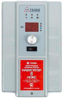 Блок управления для электрических отопительных котлов Навигатор Люкс 6