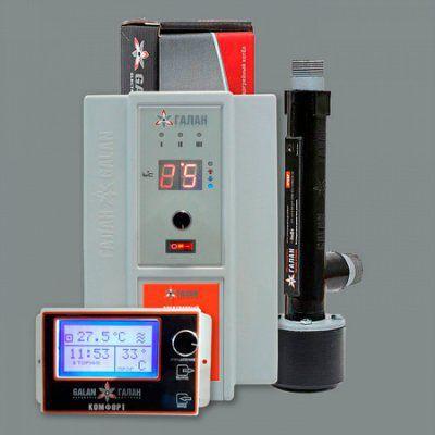 Очаг 2 / Люкс 6Н / Комфорт GSM - Комплект электродного отопительного котла с удаленным управлением GSM