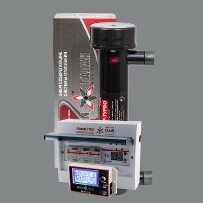 Гейзер Турбо 12 / Базовый Т / Комфорт GSM - Комплект электрического ТЭНового отопительного котла с удаленным управлением