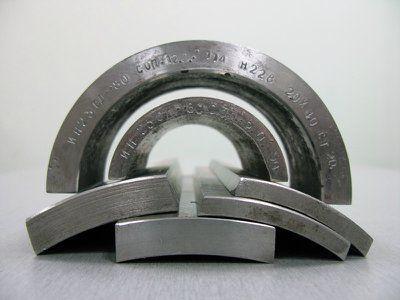 Стандартный образец предприятия СОП 530х12 зарубка 2.0х2.0 сталь 20