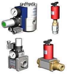 Регулирующие клапаны Muller Co-Ax ограничители давления