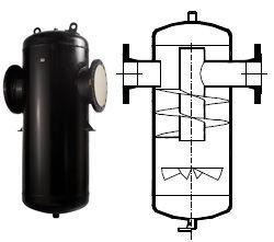 Сепаратор ГРАНСТИМ СПГ25 для пара и сжатого воздуха