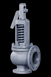Предохранительные клапаны фланцевые ПРЕГРАН КПП 496 с открытой пружиной