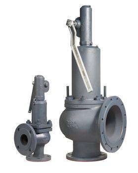 Предохранительные клапаны полноподъемные грузовые Zetkama серии Si 57 01