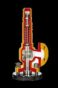 Предохранительно сбросной клапан Nacional 3-5161 с сильфоном