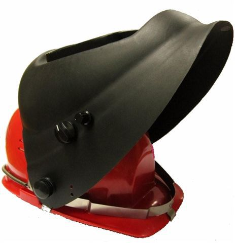 Маска сварщика НН-С401У1 (мод. 4) с комплектом для крепления к защитной каске (светофильтр 100х90мм)