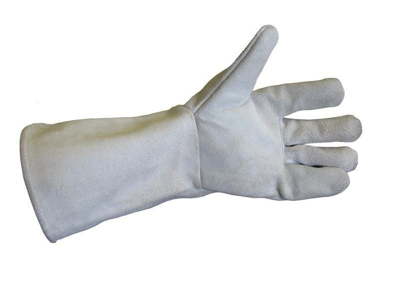 Перчатки краги (спилок)
