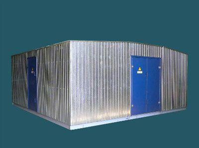 Трансформаторная подстанция 2КТПНУ-Т К/К 1000/10(6)-0,4