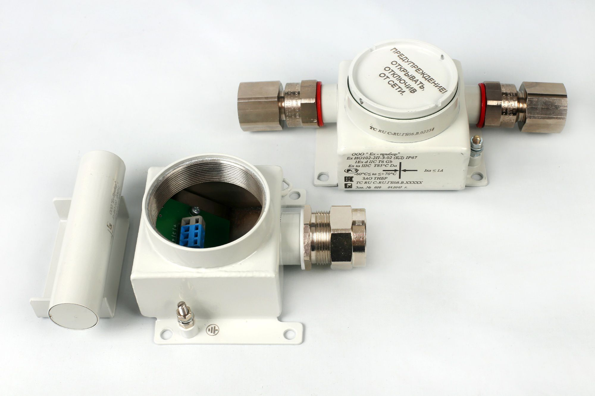 Извещатели модели ЕхИО102-2Т(2П)