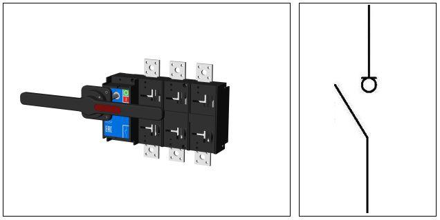 Выключатель нагрузки VC 5Р 800А