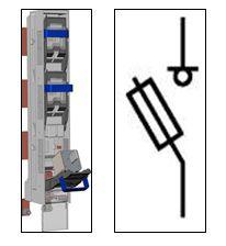 Предохранитель-выключатель-разъединитель Шлюз 3-1П-ШС